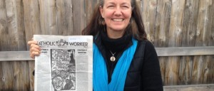 Mary-Anne-Flores-Grady-holds-Catholic-WOrker